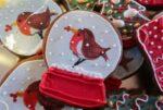 Как приготовить рождественское печенье с белоснежной глазурью
