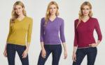 Коллекция пуловеров всех цветов